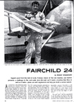 Model Airplane News October 1968 Fairchild Model 24 Radio Controlled