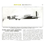The Boeing B-9 in the July 1932 issue of Popular Mechanics