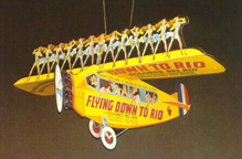 Promotional item for Flying Down to Rio Film