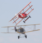 The Fokker Dr. I Dreidecker (Triplane)