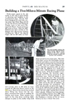 Clayton Folkerts building the Jupiter, Popular mechanics August, 1938