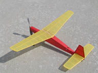 Goldberg Ranger 28 rubber powered model airplane