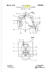 The Grumman FF-1 FiFi Leroy Grumman Retractable Landing Gear Patent No. 1,859,624