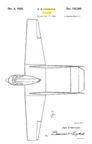 The Stearman-Hammond Y-1 Flivver Dean Hammond Design Patent D- 102,300