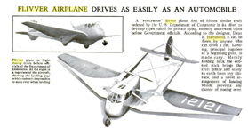 The Stearman-Hammond Y-1 Flivver October 1935 Popular Science  article