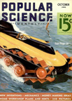 The Stearman-Hammond Y-1 Flivver October 1935 Popular Science Cover