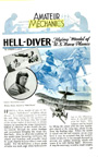 Plans for the F8c Helldiver Popular Mechanics, October, 1932