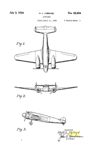 The Lockheed Electra Hall Hibbard Design Patent D-92,654