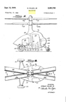 Sidney Hiller small helicopter Patent No. 2,481,745