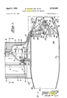 Sidney Hiller reaction Jet Patent No. 2,740,482