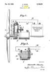 Kenneth Howie Glow Plug Model Airplane Engine Patent No 2,138,301