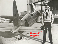 Hughes H-1 Racer Racing Wings (and Howard Hughes)
