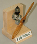 K&B Infant Torpedo Model Airplane Engine