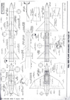 Model Airplane News August 1958 Plans for Two-Stage Jetex Rocket