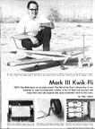 Model Airplane new February 1968 Phil Kraft Kwik-Fli