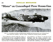 Lockheed Hudson Bomber Popular mechanics August, 1938