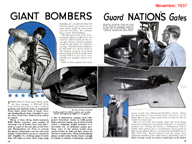 The Martin B-10 Bomber in Popular Mechanics November 1937
