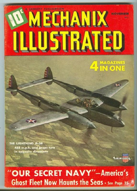 Model Airplane News Cover for May, 1939