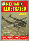 Lockheed P-38 Lightning on the cover of Mechanix Illustrated November, 1941