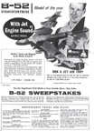 Ad for the Monogram B-52 Plastic Model Airplane Kit
