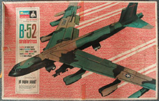Monogram B-52 Plastic Model Airplane Kit