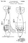 Albert Mooney Aircraft Patent No. 1,790,785