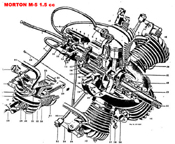 Morton M5 five cylinder model airplane engine