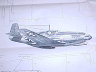 Cleveland Model of the North American P-51 Mustang