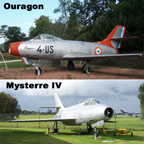 The Dassault Ouragon and Mysterre IV