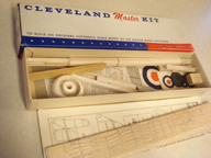 Cleveland Model of the Nieuport Model 17