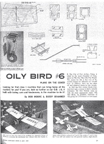 Cover of Model Airpane News April 1967 Port Arthur Radio Control Club Oily Bird Model Bob Moore Buddy Brammer
