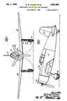 The Vultee Vanguard -- Richard Palmer Landing Gear Patent No. 2,391,998