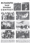2nd International Model Plane Contest sponsored by Plymouth Motor Corp, Detroit, August 1948