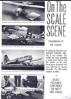 Ron Scalera Photod of Scale competion at Johnsville Pa Model Airplane News February 1966