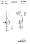 The Republic RC-3 Seabee Design Patent D-156,694