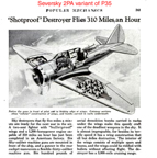 P-35 in the February, 1938 Popular Mechanics