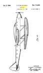 The Seversky Transoceanic Clipper Design Patent D-112,834