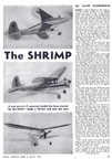 March 1949 Model Airplane News Plans for The Shrimp designed for the K-B Infant Torpedo Engine
