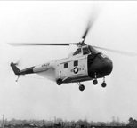 The Sikorsky H-19 Chickasaw Helicopter (Navy version H04S)