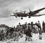 The Douglas C54 Skymaster German flying in the Berlin Airlift