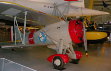 Restored Curtiss Sparrowhawk in the Air and Space Museum