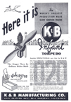 Ad for the K-B Infant Torpedo in Model Airplane News
