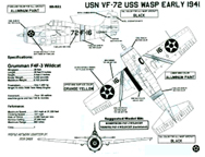 Aircraft markings for VF-72