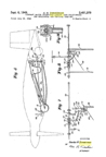 The Vought XF5U Flying Flapjack Zimmerman Design Patent No. 2,481,379