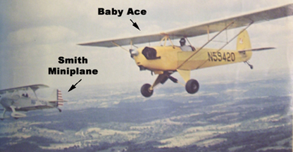 Smith Miniplane and Corben Baby Ace Model Airplane News August 1969