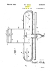 Fred Wieck Design for an Ultra-Safe Airplane Patent No 2,110,516