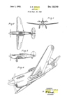 The Curtiss XP-42 Donovan Berlin Design Patent D-135,749