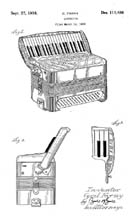 C. Farny Accordion Design Patent D111486