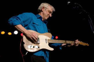 Bill Kirchen and his Fender Telecaster