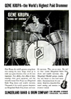 Gene Krupa ad for Slingerland drums Popular Mechanics November 1939